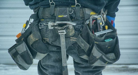 A Tool Belt with Tools