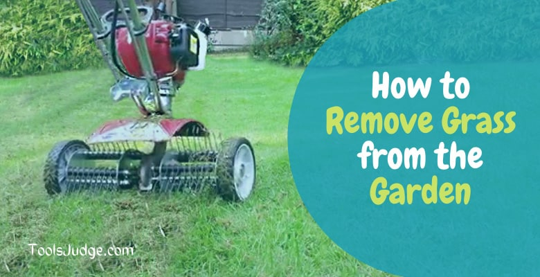 How to remove grass from garden